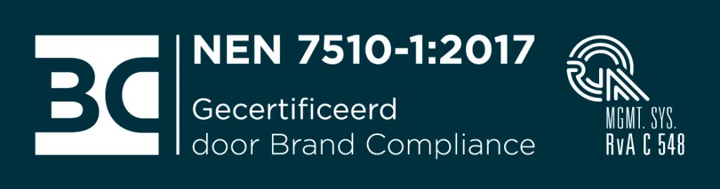 NEN 7510 gecertificeerd